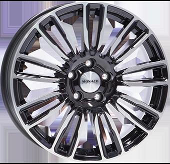 MONACO WHEELS MC14 Gloss Black / Polished 9